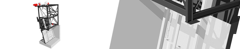 RAKEGUARD Front Raked Coarse Screen
