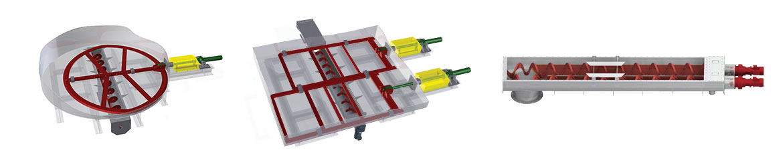 Live-Bottom and Sliding Frame Silos round rectangular