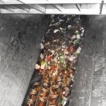 Truck receival bunker