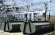 SPIROTAINER automatische Befüllung, Lagerung und Strassentransport