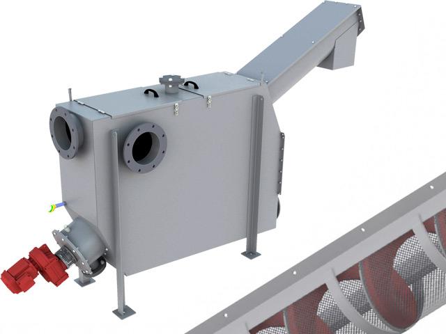 SPIROGUARD® Shaftless Screw Conveyor Screen