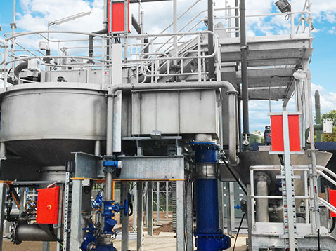 Vorgefertigte Abwasservorbehandlungsanlagen