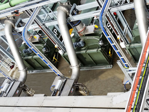 Mechanische Abwasserreinigung